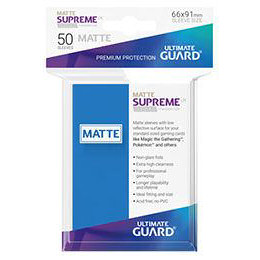 UGD SUPREME UX SLEEVES STANDARD SIZE - MATTE ROYAL BLUE (50)