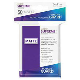 UGD SUPREME UX SLEEVES STANDARD SIZE - MATTE PURPLE (50)