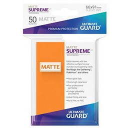 UGD SUPREME UX SLEEVES STANDARD SIZE - MATTE ORANGE (50)