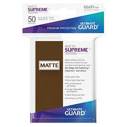UGD SUPREME UX SLEEVES STANDARD SIZE - MATTE BROWN (50)