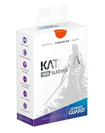UGD KATANA SLEEVES STANDARD SIZE - ORANGE (100)