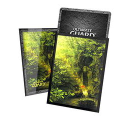 UGD PRINTED SLEEVES STANDARD SIZE LANDS EDITION II - FOREST (100)