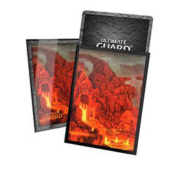 UGD PRINTED SLEEVES STANDARD SIZE LANDS EDITION II - MOUNTAIN (100)