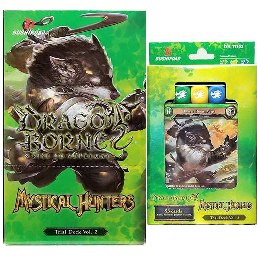 DRAGOBORNE - TRIAL DECK VOL 2 - MYSTICAL HUNTERS (BOX 6 PZ) - ING