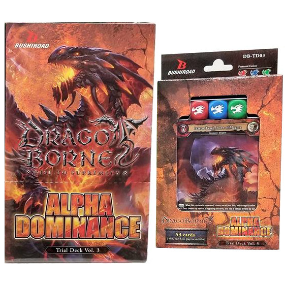 DRAGOBORNE - TRIAL DECK VOL 3 - ALPHA DOMINANCE (BOX 6 PZ) - ING