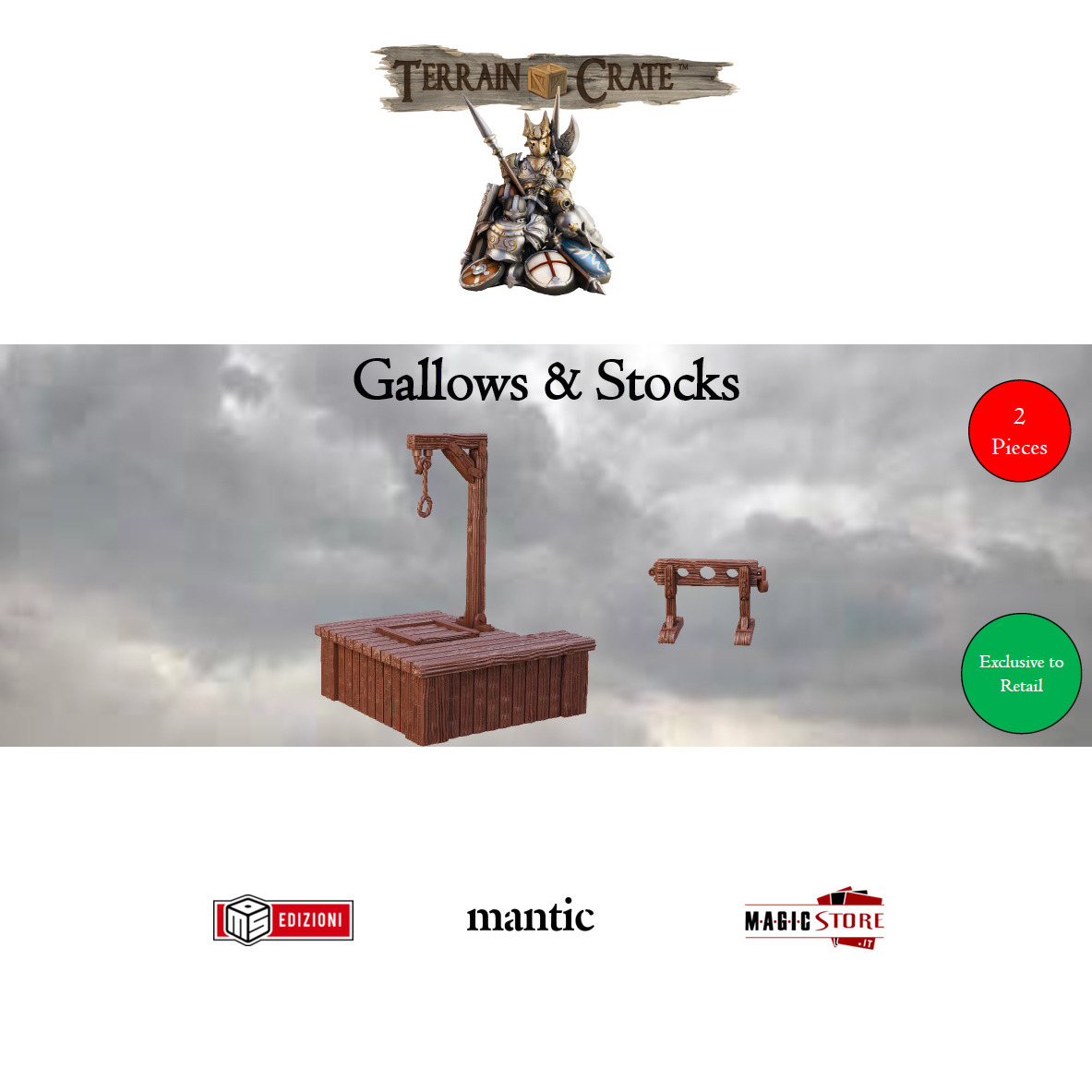 TERRAINCRATE - GALLOWS & STOCKS (RETAIL EXCLUSIVES) - WAVE 2