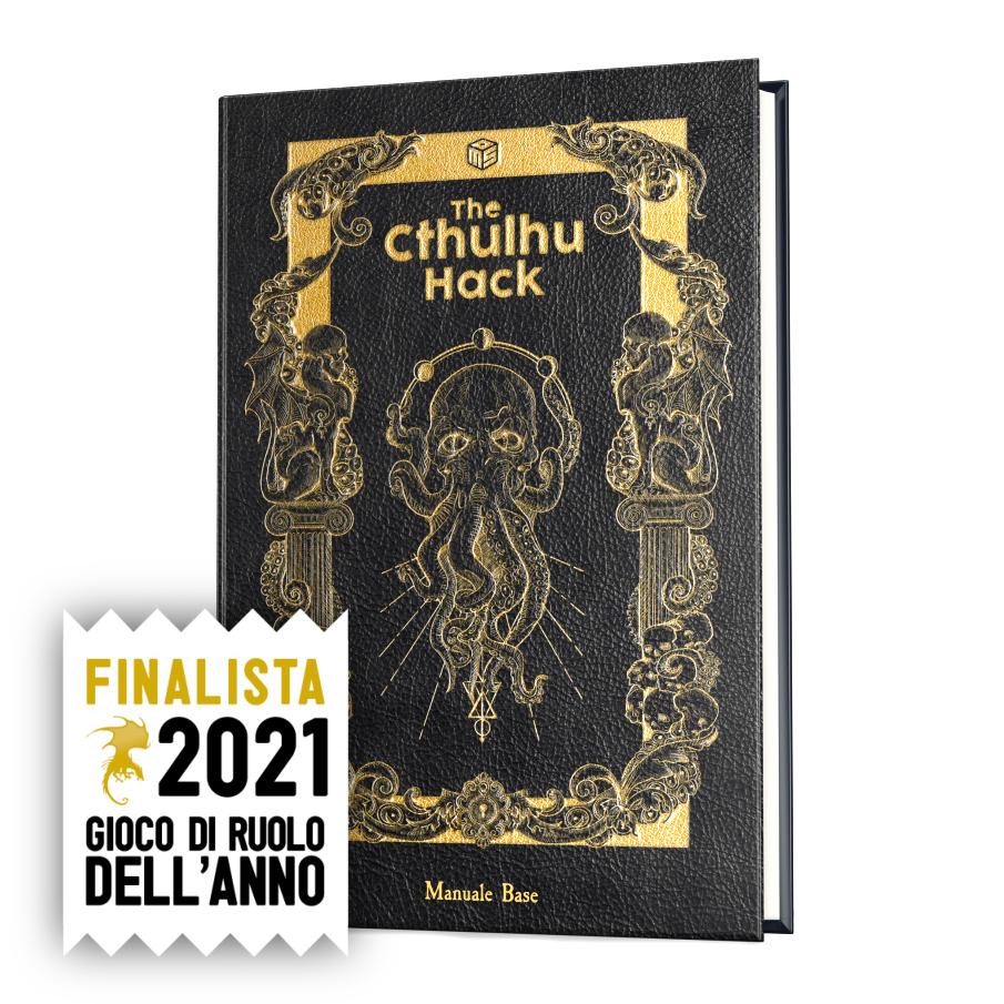 THE CTHULHU HACK - IL GIOCO DI RUOLO - MANUALE BASE
