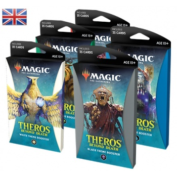 THEROS BEYOND DEATH - BOX 10 THEME BOOSTER INGLESE