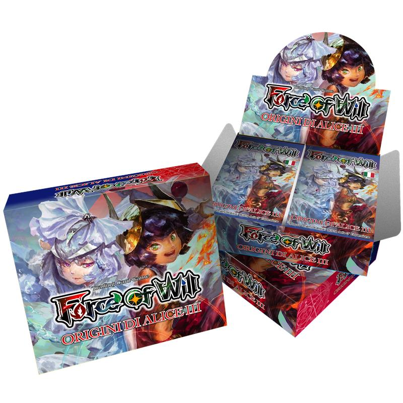 FORCE OF WILL AO3 - ORIGINI DI ALICE III - BOX 20 PZ - ITA