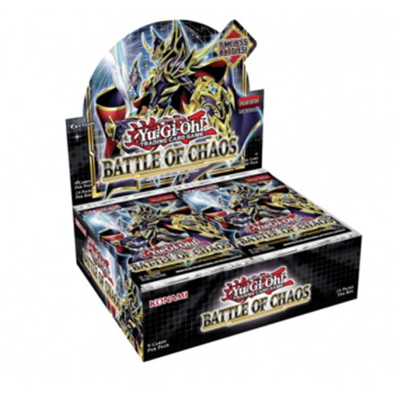 BATTLE OF CHAOS - MEZZO BOX 12 BUSTE ITA