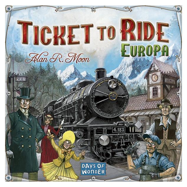 TICKET TO RIDE EUROPA - ITA