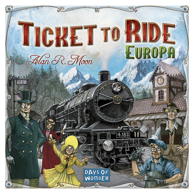 TICKET TO RIDE EUROPA - ITA