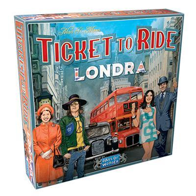 TICKET TO RIDE - LONDRA - ITALIANO