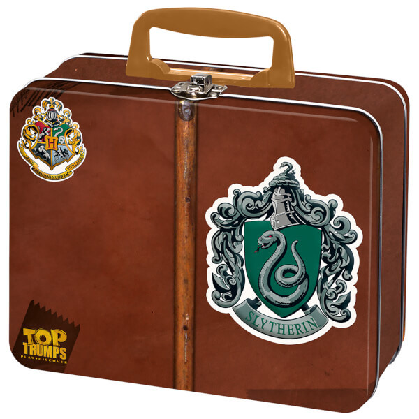TT COLLECTOR TIN HARRY POTTER SLYTHERIN - SERPEVERDE - TOP TRUMPS