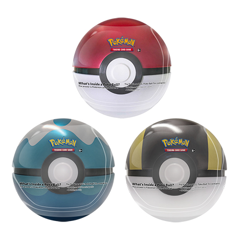 POKEMON TIN POKE BALL 2020 - 1PZ