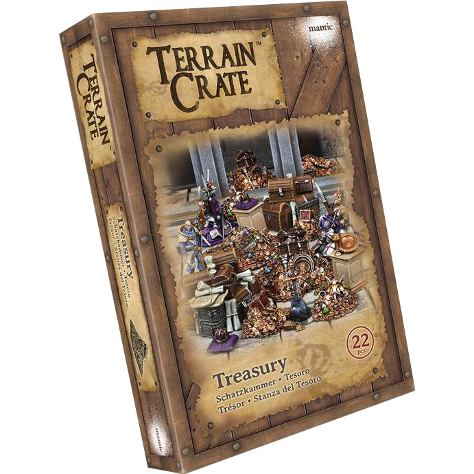 TERRAINCRATE - TREASURY - ACCESSORI