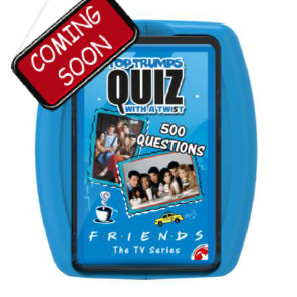 TOP TRUMPS QUIZ - 2019 FRIENDS TT QUIZ - ITALIANO