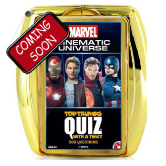 TOP TRUMPS QUIZ - 2019 MARVEL CINEMATIC TT QUIZ - ITALIANO
