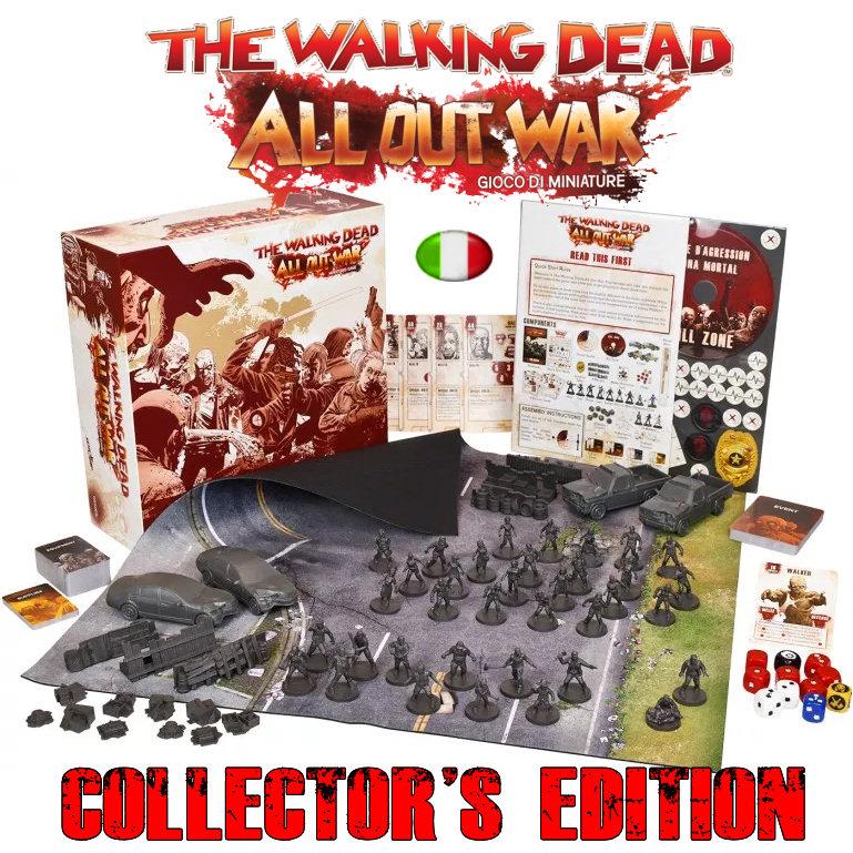 THE WALKING DEAD - GIOCO DI MINIATURE - COLLECTOR'S EDITION