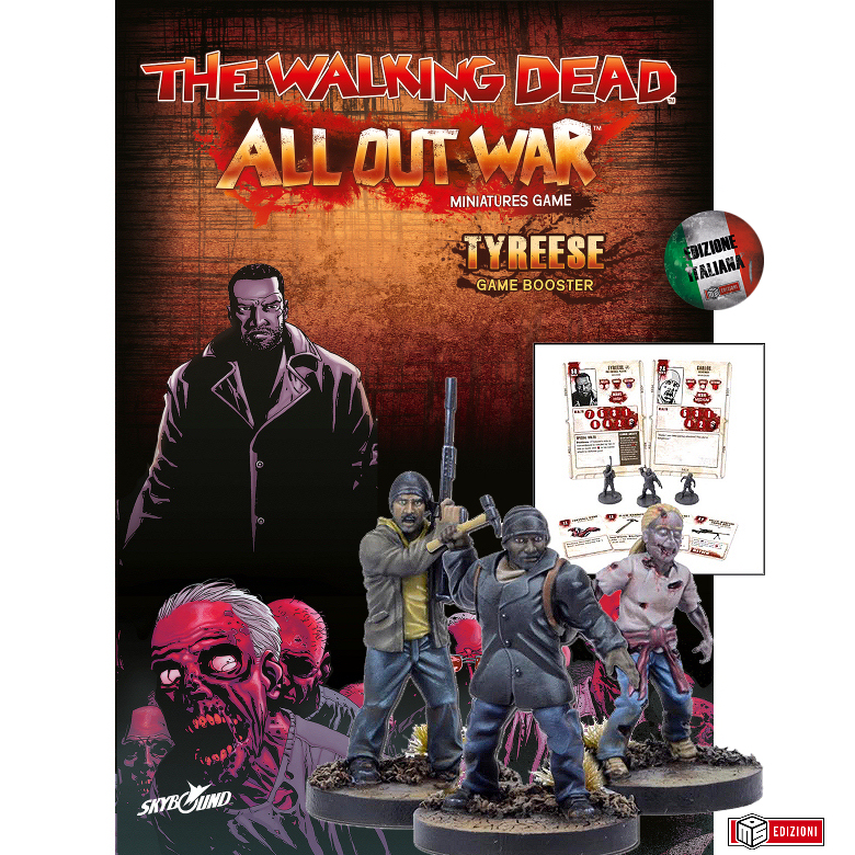 THE WALKING DEAD - GIOCO DI MINIATURE - TYREESE - PACK DI ESPANSIONE