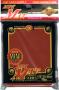 KMC MINI MAT RED SLEEVES (50)