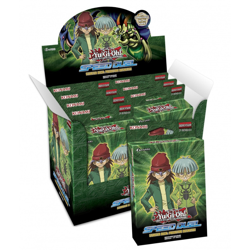 STARTER DECK SPEED DUEL PREDATORI DEFINITIVI - BOX 8 MAZZI