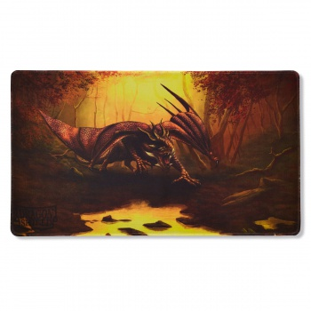 DRAGON SHIELD PLAYMAT - UMBER TERANHA (LIMITED EDITION)