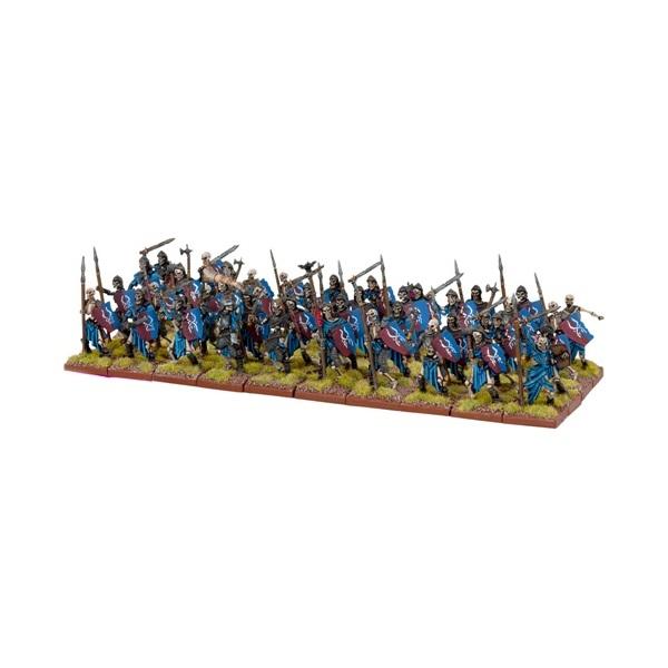 KINGS OF WAR UNDEAD SKELETON HORDE - INGLESE