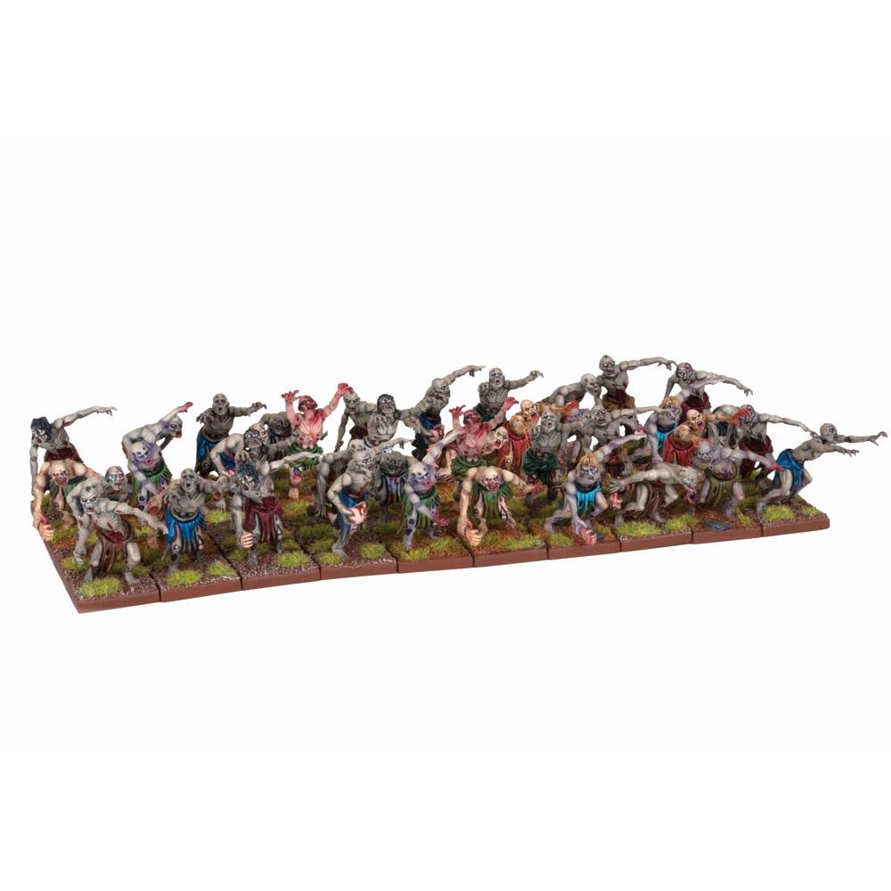 KINGS OF WAR UNDEAD ZOMBIE HORDES-SWARM - INGLESE