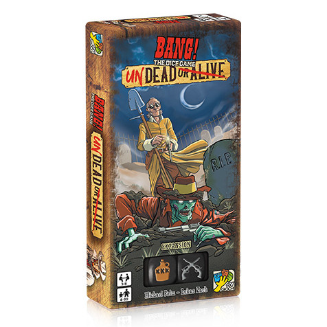BANG! - THE DICE GAME - UNDEAD OR ALIVE - ESPANSIONE