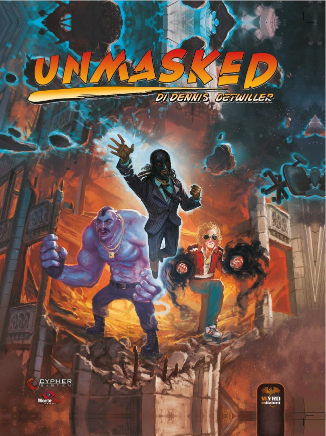 CYPHER SYSTEM - UNMASKED
