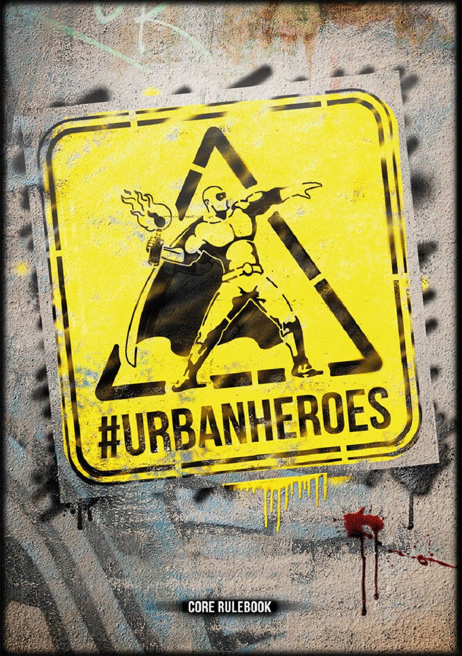 URBAN HEROES - MANUALE BASE ITALIANO