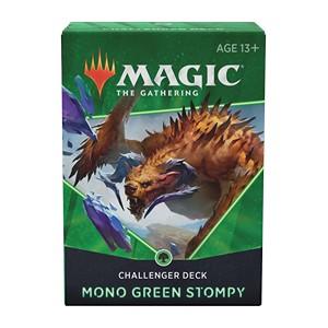 CHALLENGER DECKS 2021 - MONO GREEN STOMPY - INGLESE