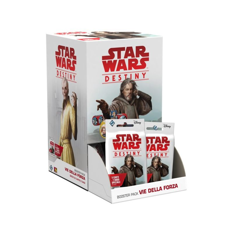 STAR WARS: DESTINY - BOOSTER PACK VIE DELLA FORZA (BOX 36 PZ)