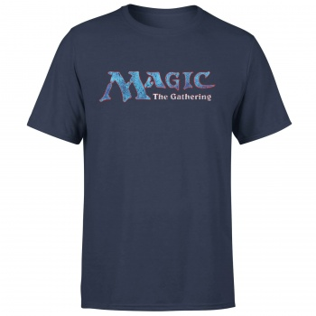 MAGIC THE GATHERING - 93 VINTAGE LOGO T-SHIRT - NAVY - L