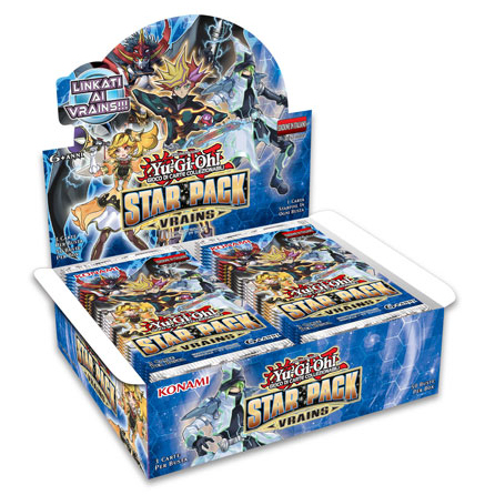 STAR PACK: VRAINS - BOX 50 BUSTE