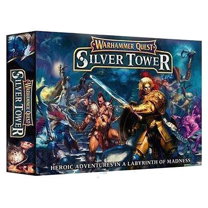 Warhammer Quest Gioco da Tavola Nuovo da Citadel in Italiano Silver Tower
