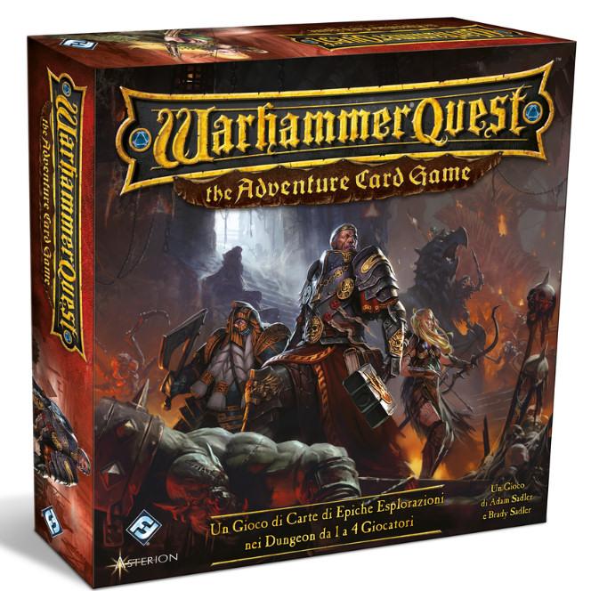 WARHAMMER QUEST - THE ADVENTURE CARD GAME - EDIZIONE ITALIANA