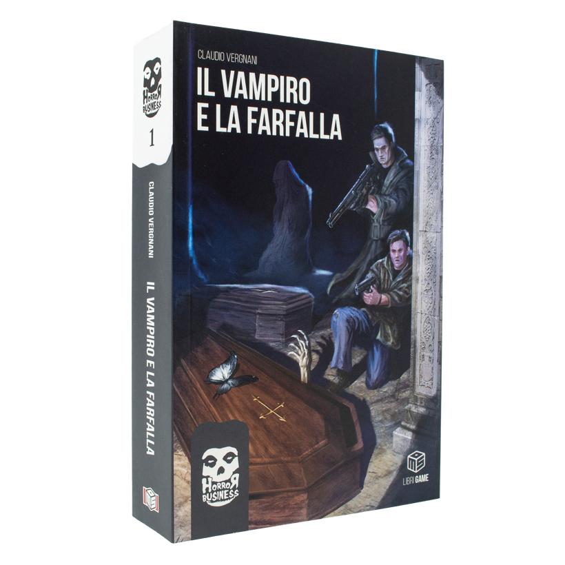 HORROR BUSINESS VOL.1 - IL VAMPIRO E LA FARFALLA (DI CLAUDIO VERGNANI)