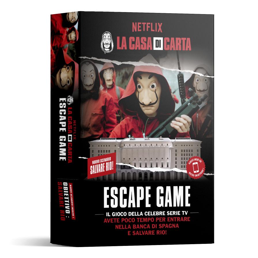 LA CASA DI CARTA - SALVATE RIO - ESCAPE GAME