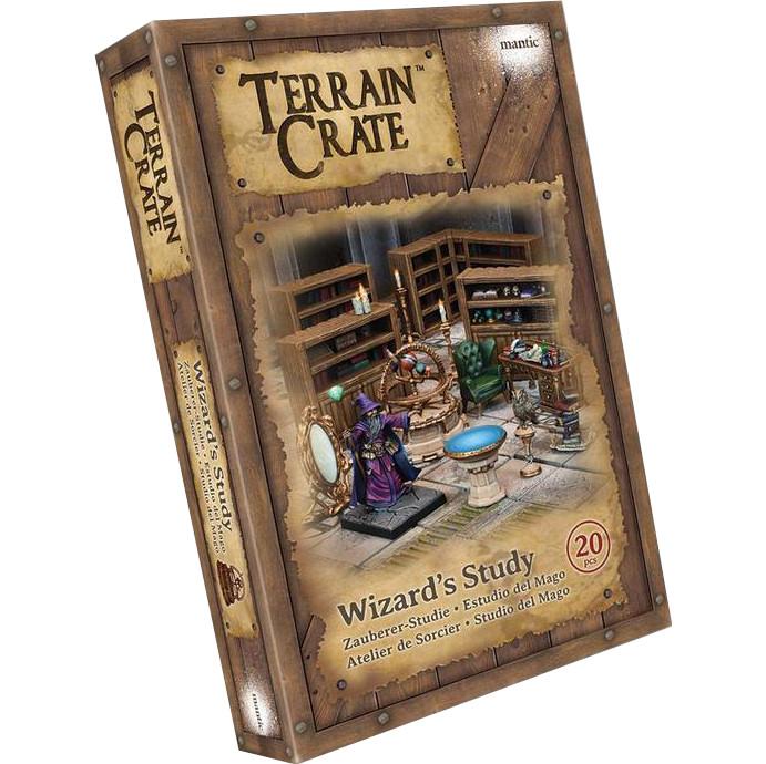 TERRAINCRATE - WIZARDS STUDY - ACCESSORI