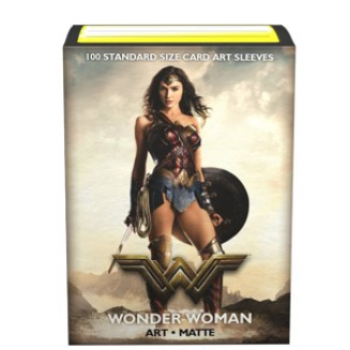 DS100 SLEEVES STANDARD MATTE ART - JUSTICE LEAGUE - WONDER WOMAN