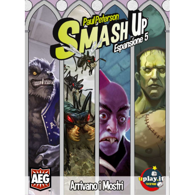 SMASH UP: ARRIVANO I MOSTRI