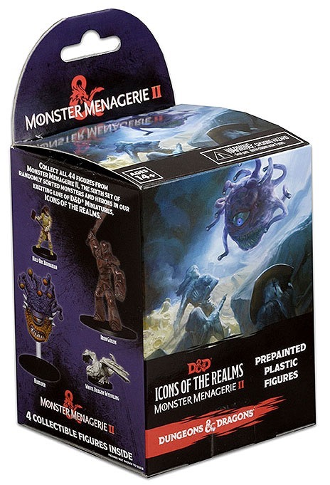D&D 5A EDIZIONE - ICONS OF THE REALMS: MONSTER MENAGERIE 2 (BOOSTER SINGOLO)