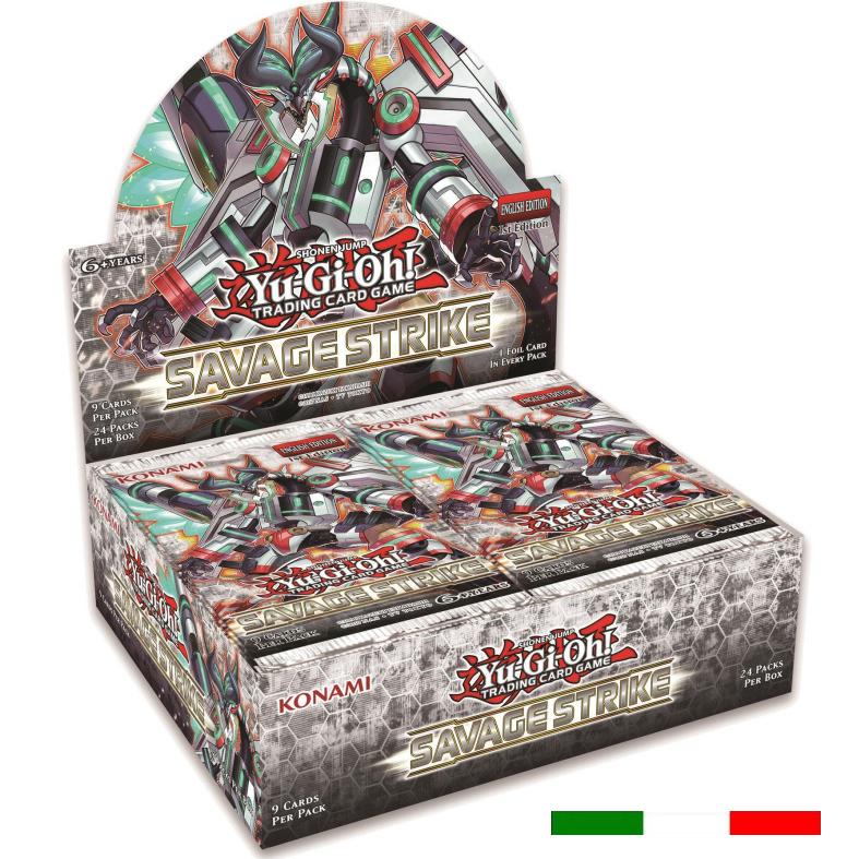 ATTACCO SELVAGGIO - BOX 24 BUSTE ITA